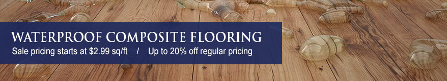 Waterproof Flooring Composite Sale - Up to 20% Off